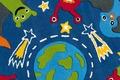 Arte Espina Teppich Spirit Glowy 3143 Ø 130 RUND