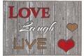 Astra Fussmatte Casadoor Love laugh 50x70