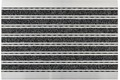 Astra Fussmatte Elegant Mat Rips anthrazit 40x60