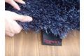 Tepgo Detail ESPRIT Hochflor-Teppich, New Glamour, ESP-3303-13, blau