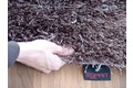 Tepgo Detail ESPRIT Hochflor-Teppich Cool Glamour ESP-9001-05 braun
