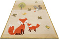 ESPRIT Kinderteppich E-FOX IN THE WOOD ESP-4371-04 beige