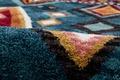 Gino Falcone Teppich Vittoria GF-015 705 blau multi