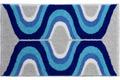 GRUND , Badteppich, KARIM RASHID Concept 18 004 blau