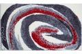 Colani 42 Badteppich grau-rot
