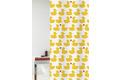 GRUND Duschvorhang Happy Spring gelb/rot 180x200 cm