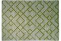 Kayoom Teppich Luxury 310 Edelgrün Viskose-Teppich