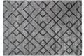 Kayoom Teppich Luxury 310 Grau / Anthrazit Viskose-Teppich