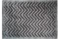 Kayoom Teppich Luxury 410 Grau / Anthrazit Viskose-Teppich