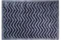 Kayoom Teppich Luxury 410 Marineblau Viskose-Teppich