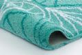 Kleine Wolke Badteppich Bloom Salbeigrün