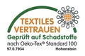 Kleine Wolke Öko-Tex Zertifikat Kleine Wolke Badteppich, Relax, Atlantikblau, rutschhemmender Rücken, Öko-Tex zertifiziert