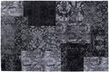 Luxor Living Vintage-Teppich Barock schwarz/weiß Designerteppich