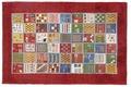 Oriental Collection Gabbeh-Teppich Loribaft 107 cm x 160 cm Gabbeh,Loribaft/Rissbaft