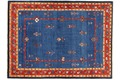 Oriental Collection Gabbeh-Teppich Loribaft 150 cm x 200 cm Gabbeh,Loribaft/Rissbaft