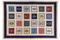 Oriental Collection Gabbeh-Teppich Loribaft 215 cm x 307 cm Gabbeh,Loribaft/Rissbaft