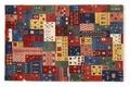 Oriental Collection Gabbeh-Teppich Loribaft 80 cm x 125 cm bunt Gabbeh,Loribaft/Rissbaft