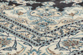 Oriental Collection Nain-Teppich Medallion blau 195 x 295 cm