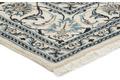 Oriental Collection Nain-Teppich Medallion blau 198 x 298 cm