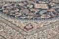 Oriental Collection Nain-Teppich Medallion blau 200 x 300 cm