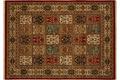 Oriental Collection Orientteppich Punjab rot Bakhtiar