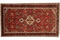 Oriental Collection Teppich, Sarough, Perser-Teppich, handgeknüpft, reine Schurwolle, florale Ornamentik, 127 x 220 cm