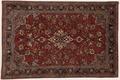 Oriental Collection Teppich, Sarough, Perser-Teppich, handgeknüpft, reine Schurwolle, florale Ornamentik, 130 x 200 cm
