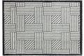 Schöner Wohnen Fußmatte Manhattan Design 004, Farbe 004 Streifengitter silber