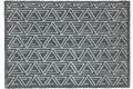 Schöner Wohnen Fußmatte Manhattan Design 005, Farbe 040 Triangle grau