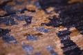 talis teppiche Handknüpfteppich TOPAS DELUXE Des. 3109 Viskose-Teppich,Vintage/Patchwork