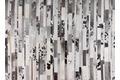 talis teppiche Lederteppich LEATHER, Design 1405 schwarz/weiß