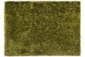 THEKO Hochflor-Teppich Girly uni grün