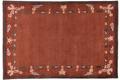 THEKO Nepalteppich Gurkha Seta MK85 red multi 160 x 230 cm