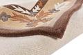 THEKO Nepalteppich Gurkha Seta MK85 light brown 164 x 234 cm