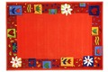 THEKO Kinderteppich Maui MH-3657-03 orange