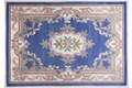 THEKO Teppich Ming, Aubusson 501, blau Chinateppich