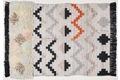 THEKO Handwebteppich Beni Ourain, Nomadic-Design, multicolor Kelim