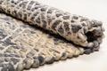 Tom Tailor Handwebteppich Smooth Comfort Diamond grey Kelim