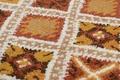 Tuaroc Berberteppich gemustert, Beni Ourain Midar 02, terrakotta