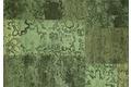 Kelii Patchwork-Teppich Colorado green Designerteppich