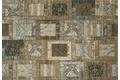 Kelii Patchwork-Teppich Montana taupe Designerteppich