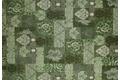 Kelii Patchwork-Teppich Patagonia green Designerteppich