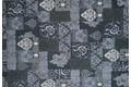 Kelii Patchwork-Teppich Patagonia navy Designerteppich