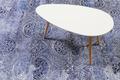 Wecon home Kurzflor-Teppich Grace WH-10138-08 blau