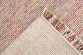 Wohn Idee Handwebteppich Lasse, aubergine