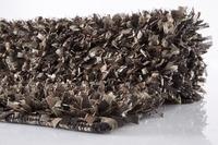 Batex , Badteppich, Star, dunkelbraun/ sand, 35 mm Florhöhe, Öko-Tex zertifiziert