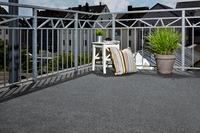 Andiamo Kunstrasen Komfort grau 200 cm