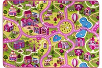 Andiamo Kinderteppich Sweet Village multi