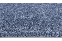 Andiamo Teppichboden PORTLAND Blau uni 400 cm x Wunschlänge