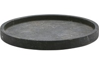 Aquanova SLATE Tablett Rund 09 schwarz Ø30 x 3 cm